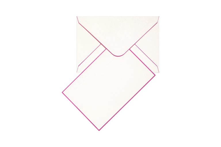 Funky Colours Cards & Envelopes - Hot Pink