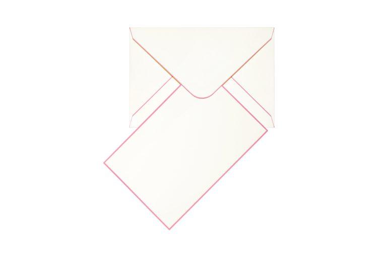 Funky Colours Cards & Envelopes - Old Rose