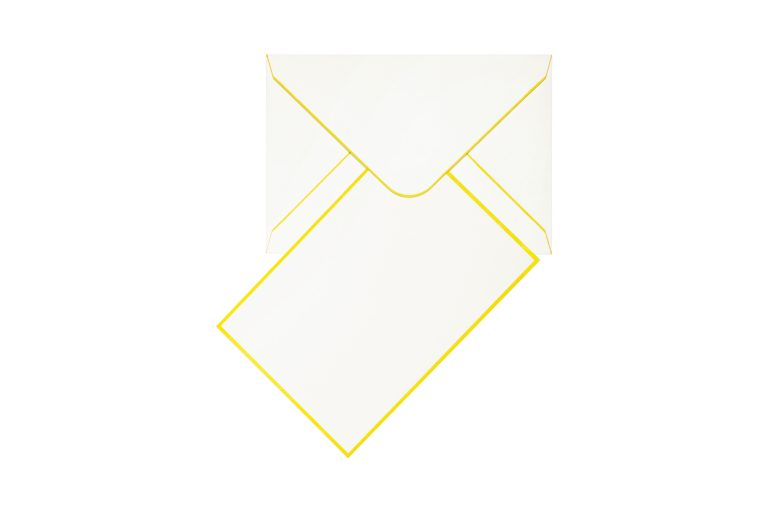 Funky Colours Cards & Envelopes - Yellow