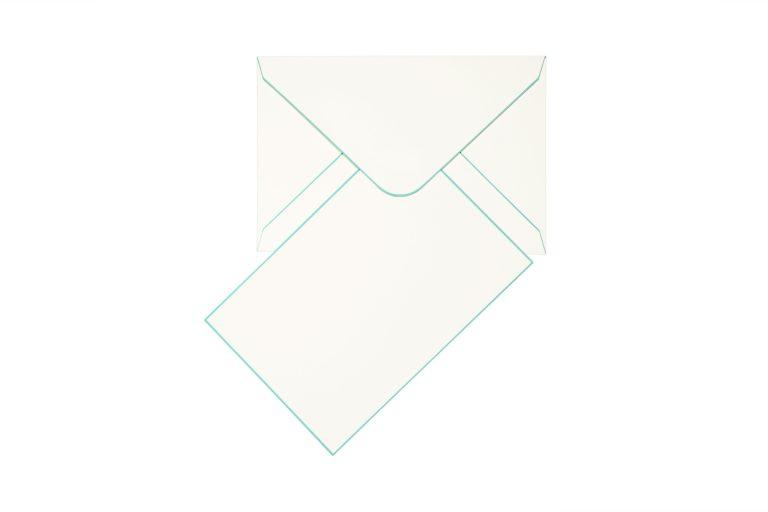 Funky Colours Cards & Envelopes - Aqua