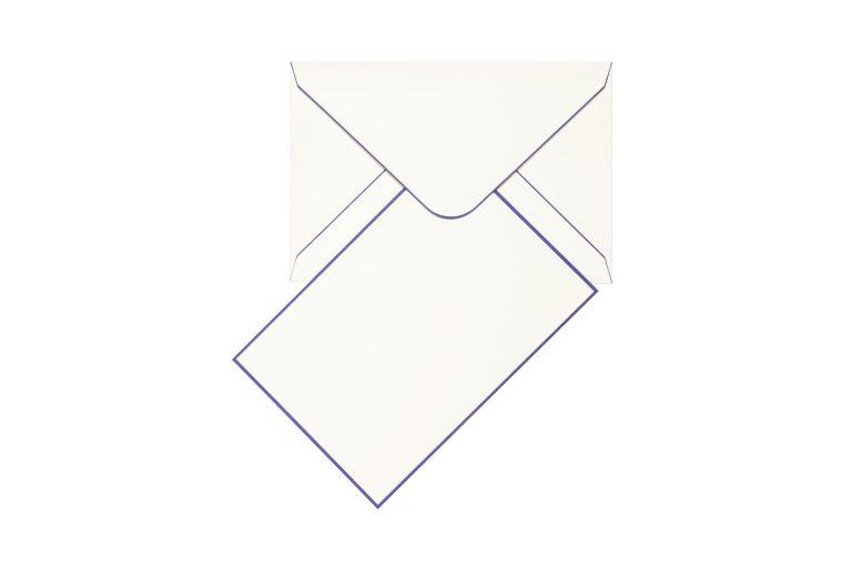 Funky Colours Cards & Envelopes - Iris