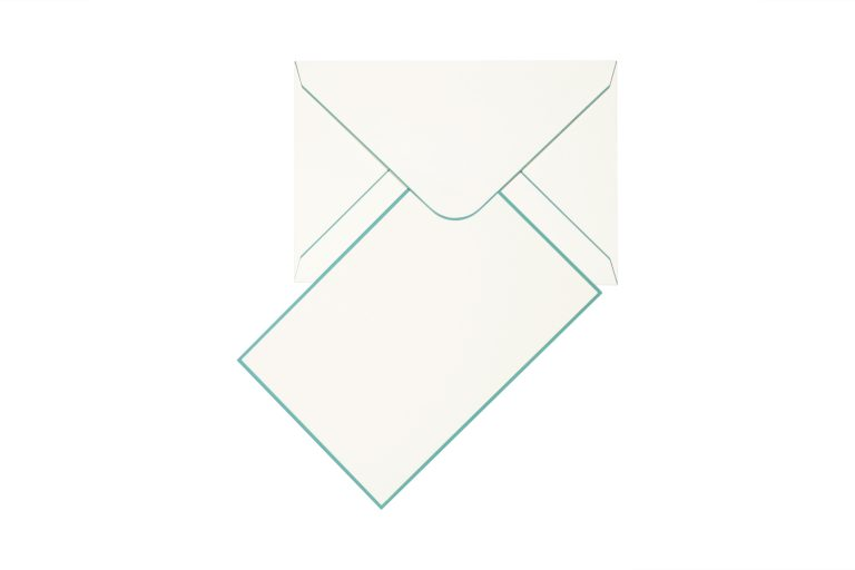 Funky Colours Cards & Envelopes - Duck Egg Blue