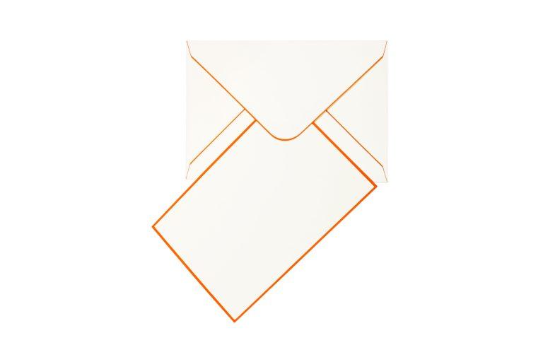 Funky Colours Cards & Envelopes - Orange
