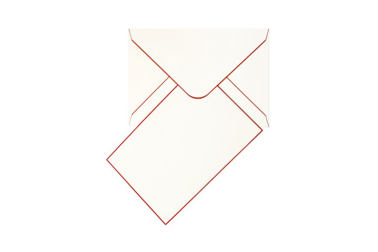 Funky Colours Cards & Envelopes - Red