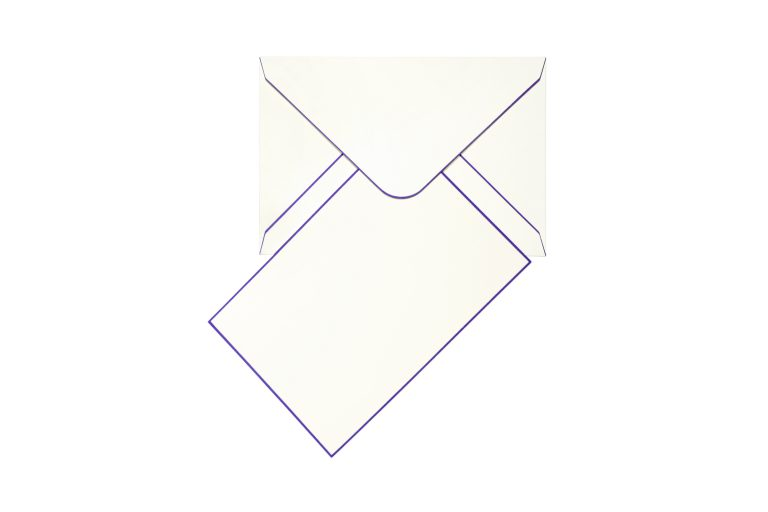 Funky Colours Cards & Envelopes - Purple