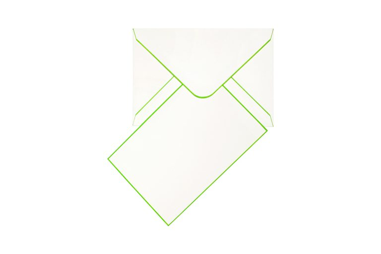 Funky Colours Cards & Envelopes - Emerald