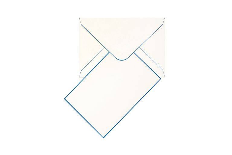 Funky Colours Cards & Envelopes - Indicolite