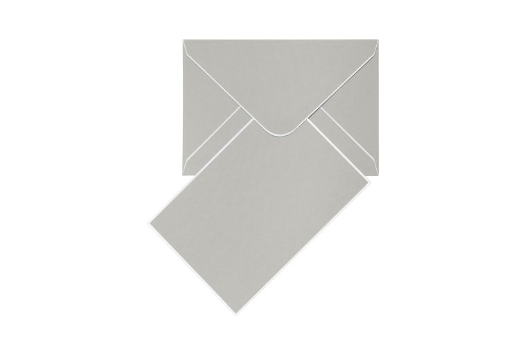 Cool Dudes Cards & Envelopes - Real Grey
