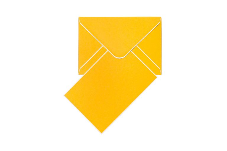Cool Dudes Cards & Envelopes - Citrine