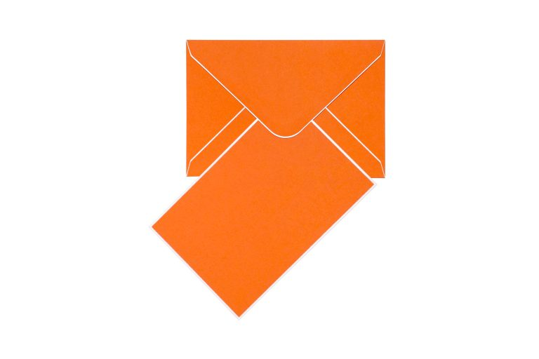 Cool Dudes Cards & Envelopes - Orange