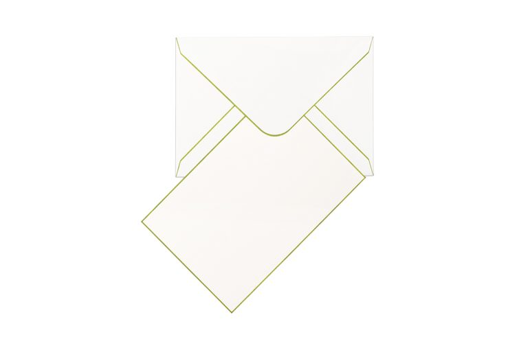 Funky Colours & Envelopes - Tea Green