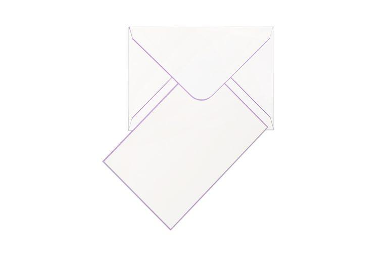 Funky Colours Cards & Envelopes - Lavender
