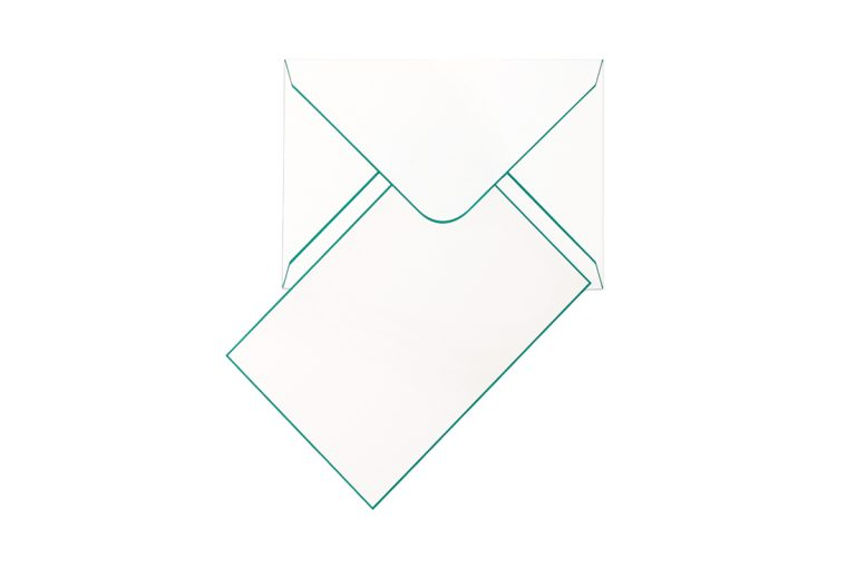 Funky Colours Cards & Envelopes - Jade