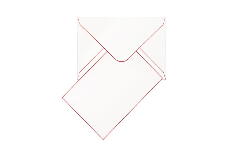 Funky Colours Cards & Envelopes - Cherry Red
