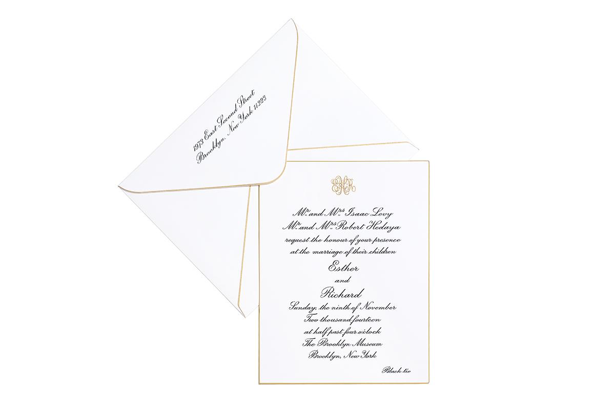 Wedding Invitations - Grosvenor Stationery Company